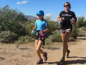 n 8 year old Ultra Marathon Runner