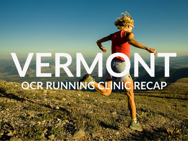 OCR Run Clinic Vermont