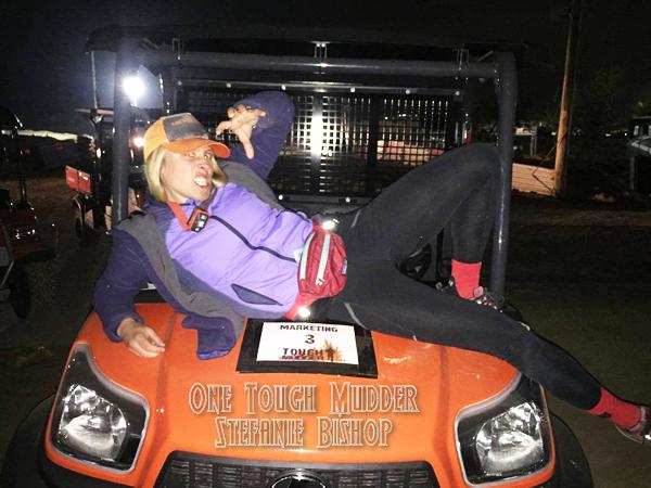 Stefanie Bishop World's Toughest Mudder Champion 2016